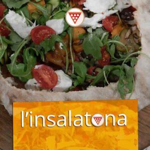 insalatona in crosta di pizza pizzeria trofarello