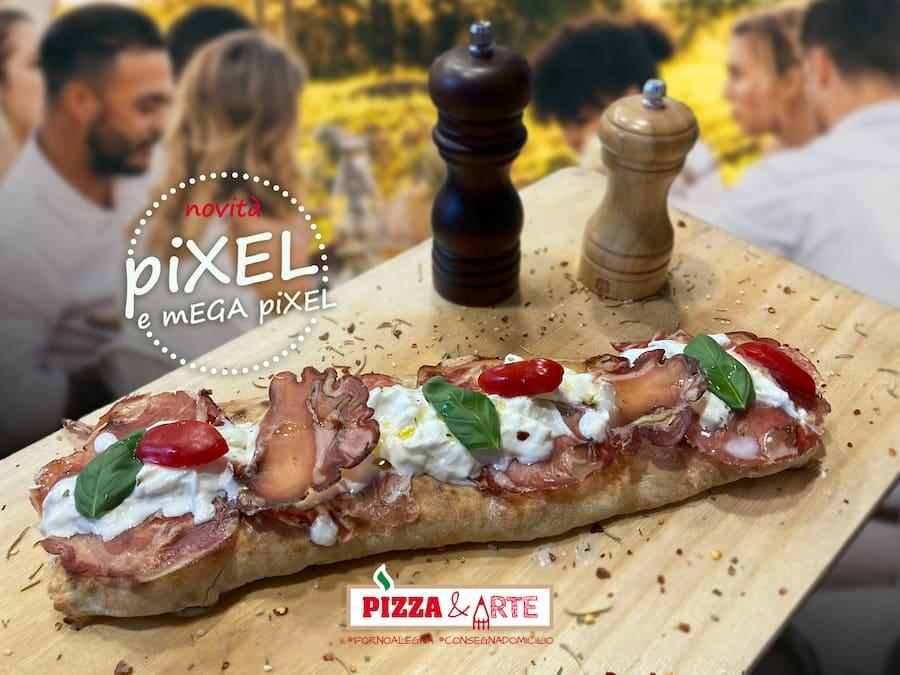 la super farcia Pixel da Pizza &Arte