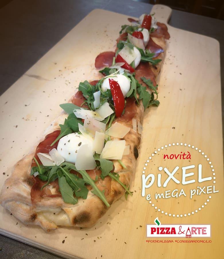 Pizza farcita Pixel a trofarello