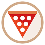 pizza e arte trofarello loghino