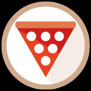 pizza e arte loghino pittogramma