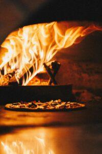 forno a legna pizza al mattone