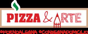 pizza e arte logo forno a legna consegna a domicilio